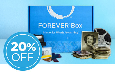 Save 20% on FOREVER® Boxes - available in 3 sizes! Get 2021 started right.