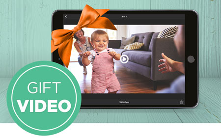 Give the gift of a Streaming Video Plan!