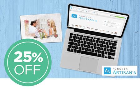 Save 25% on Early Access to NEW FOREVER Artisan® 6 software! Or, save 25% on your upgrade from Artisan 5!