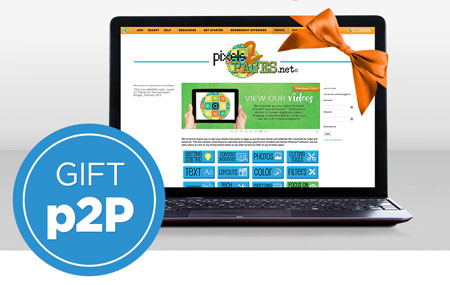 Give the gift of a pixels2Pages Membership!
