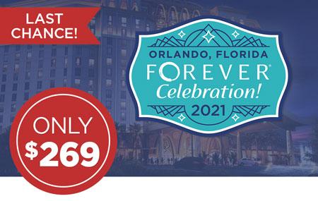 Ambassadors: Get your FOREVER Celebration! event ticket for just $269!