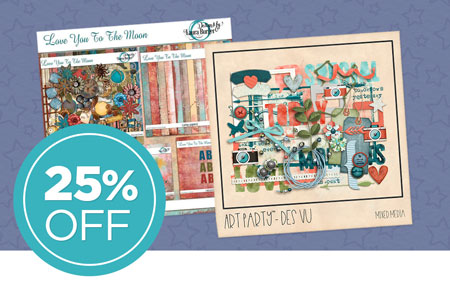 Save 25% on all Digital Art!