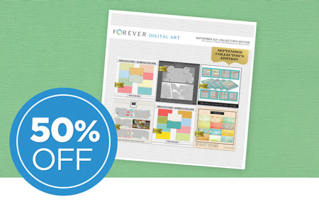 Save 50% on our September Seamless Layflat Collector's Edition Digital Art Bundle!