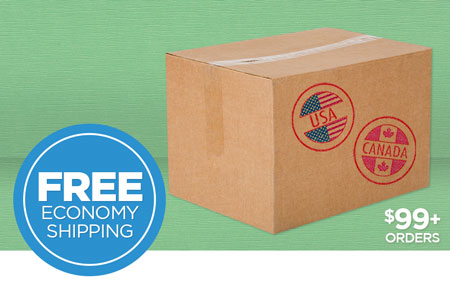 Free US/CAN Economy Shipping on Print Shop orders over $99 USD!