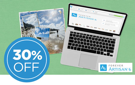 Save 30% on Early Access to NEW FOREVER Artisan® 6 software! Or, save 30% on your upgrade from Artisan 5!